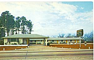 Thornton s Motel Jacksonville Florida Postcard p25734 (Image1)