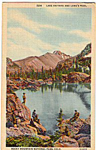 Lake Haitaha and Long s Peak Rocky Mountain National Park CO p25745 (Image1)