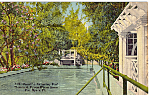 Swimming Pool Edison Winter Home Ft Myers FL p25753 (Image1)
