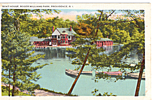 Boat House, Roger Williams Park, Providence (Image1)