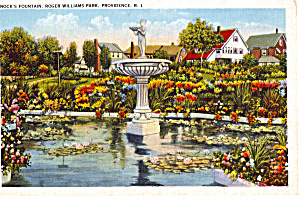 Nock's Fountain, Roger Williams Park, Providence (Image1)