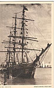 Byrd s South Pole Ship Chicago World s Fair Postcard p25771 (Image1)