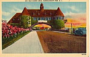 Old Casino Arch, Narragansett Pier, Rode island (Image1)