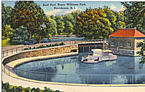 Seal Pool, Roger Williams Park, Providence (Image1)