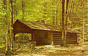 Log Cabin World s End State Park Sullivan Highlands PA p25825 (Image1)