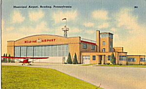 Municipal Airport, Reading Pennsylvania P25832