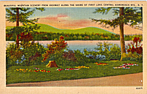 First Lake Central Adirondack Mountains Ny P25842