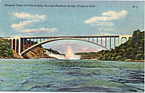 View of Niagara Falls through Rainbow Bridge p25843 (Image1)