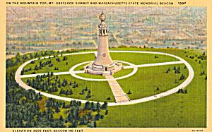 Massachusetts State Memorial Beacon Mt Greylock p25859 (Image1)