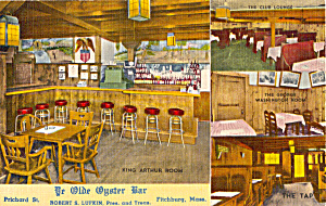 Interior Ye Olde Oyster Bar  Fitchburg MA p25867 (Image1)