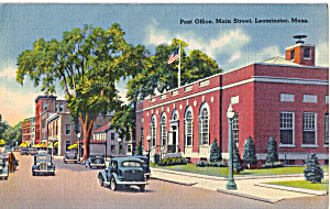 Post Office, Main Street, Leominster,Vintage Cars (Image1)