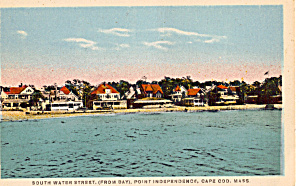 South Water Street Point Independence Cape Cod Ma P25887