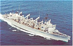 USS Seattle AOE 3 Postcard p2590 (Image1)