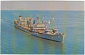 USS Truckee AO 147 Postcard p2592 (Image1)