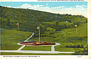 Fort Necessity Site Of Washington S First Real Battle P25938