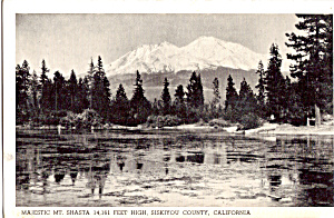 Mt Shasta, Siskiyou County, California (Image1)