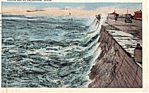 Rough Sea at Galveston, Texas (Image1)