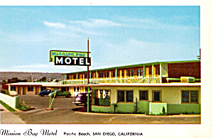 Mission Bay Motel Pacific Beach San Diego CA p25982 (Image1)