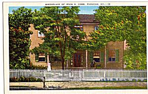 Birthplace of Irvin S Cobb Paducah Kentucky p25987 (Image1)