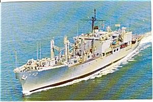 USS Sylvania AFS 2 Combat Stores Ship Postcard p2598 (Image1)