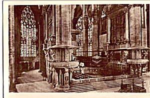 Milan Italy Interior Of The Cathedral P26011