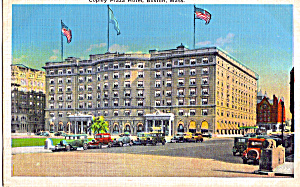 Copley Plaza Hotel Boston Massachusetts p26016 (Image1)