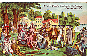 William Penn s Treaty with the Indians Philadelphia PA  p26017 (Image1)