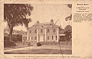 Longfellow House, Cambridge, Massachusetts (Image1)