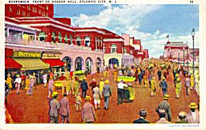 Boardwalk in Front of Haddon Hall Atlantic City NJ p26026 (Image1)