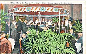 Plaza Merry Go RoundThe Copley Plaza Copley Square Boston p26033 (Image1)