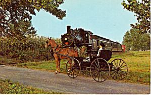 Strasburg Railroad ostcard p26054 (Image1)