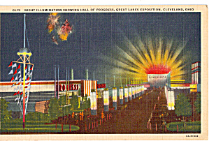 Hall of Progress at Night (Image1)