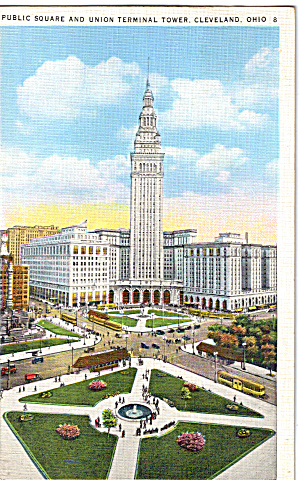 Union Terminal Tower, Cleveland, Ohio