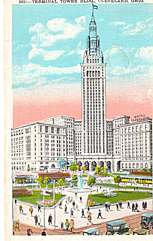 Union Terminal Tower Cleveland Ohio P26093