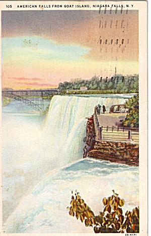 American Falls from Goat Island Niagara Falls p26112 (Image1)