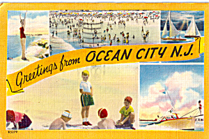 Greetings From Ocean City New Jersey p26143 (Image1)