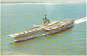 Uss Independence Cva-62 Postcard P2615