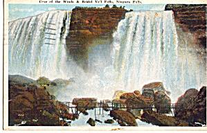 Cave of the Winds and Bridal Veil Falls Niagara Falls p26166 (Image1)