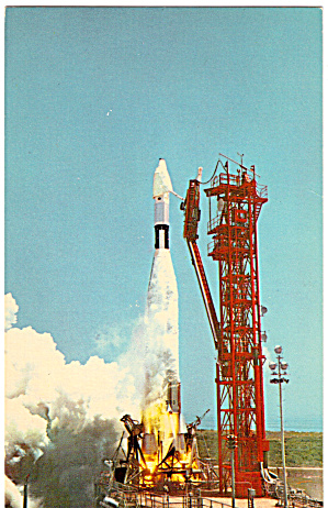 Ranger 7 Lifting off Pad 12 (Image1)