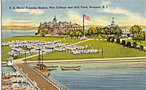 Us Naval Training Station War College And Drill Field P26181
