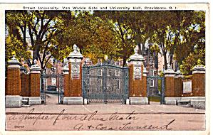 Van Wickle Gate  Brown University Providence Rhode Island p26183 (Image1)
