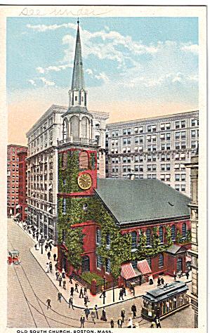 Old South Church Boston Massachusetts p26226 (Image1)