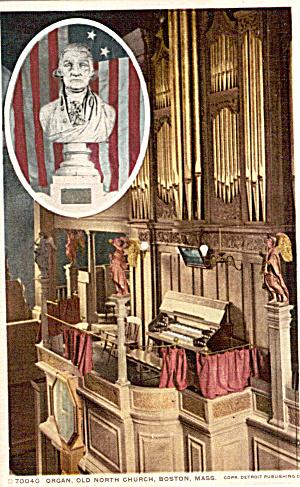 Organ Old North Church Boston Massachusetts p26230 (Image1)