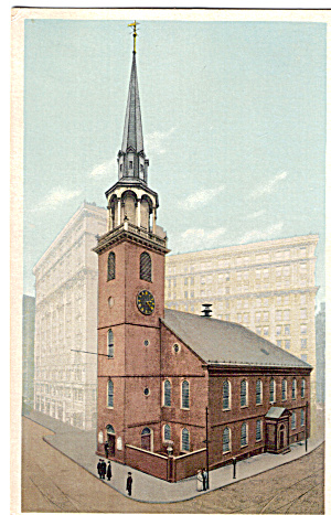 Old South Meeting House Boston Massachusetts P26246