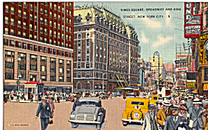 Times Square Broadway and 43rd Street New York City p26249 (Image1)
