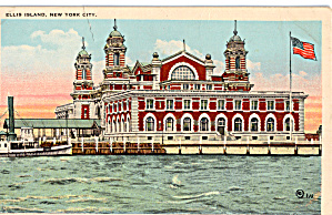 Ellis Island New York Harbor p26255 (Image1)