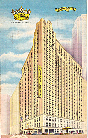Hotel Victoria, New York City, New York (Image1)