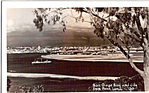 San Diego Bay from Point Loma San Diego CA p26313 (Image1)