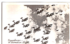 Squadrons of Bi-Planes in Formation Flight (Image1)