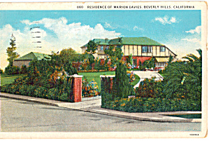 Residence Of Marion Davies, Beverly Hills, California